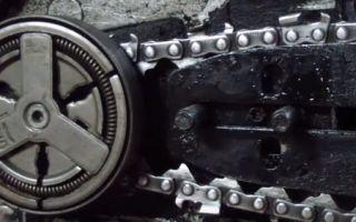 Как уменьшить длину цепи на бензопиле самостоятельно