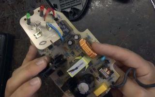 Как отремонтировать зарядный блок шуруповерта