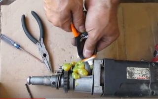 Смазка для перфоратора: для чего нужно смазывать инструмент