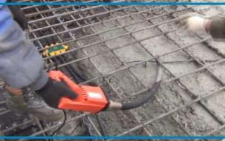 Как сделать из перфоратора вибратор для бетона