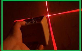 Делаем лазерный уровень своими руками из подручных материалов