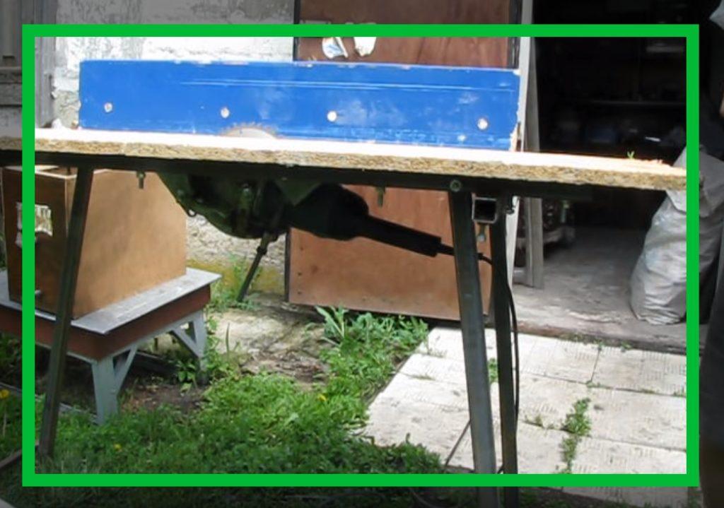Болгарка прикрученная к столу