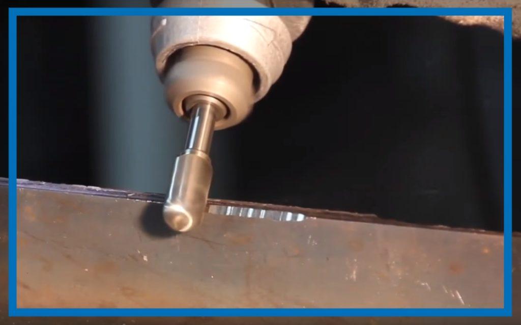 Фреза для сверления отверстий в металле