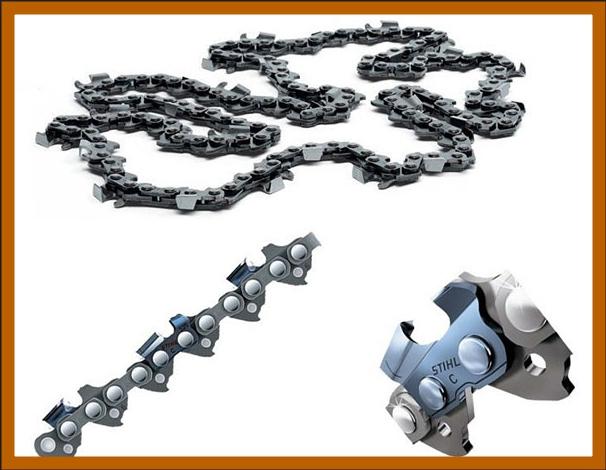 Чем отличаются цепи для бензопил